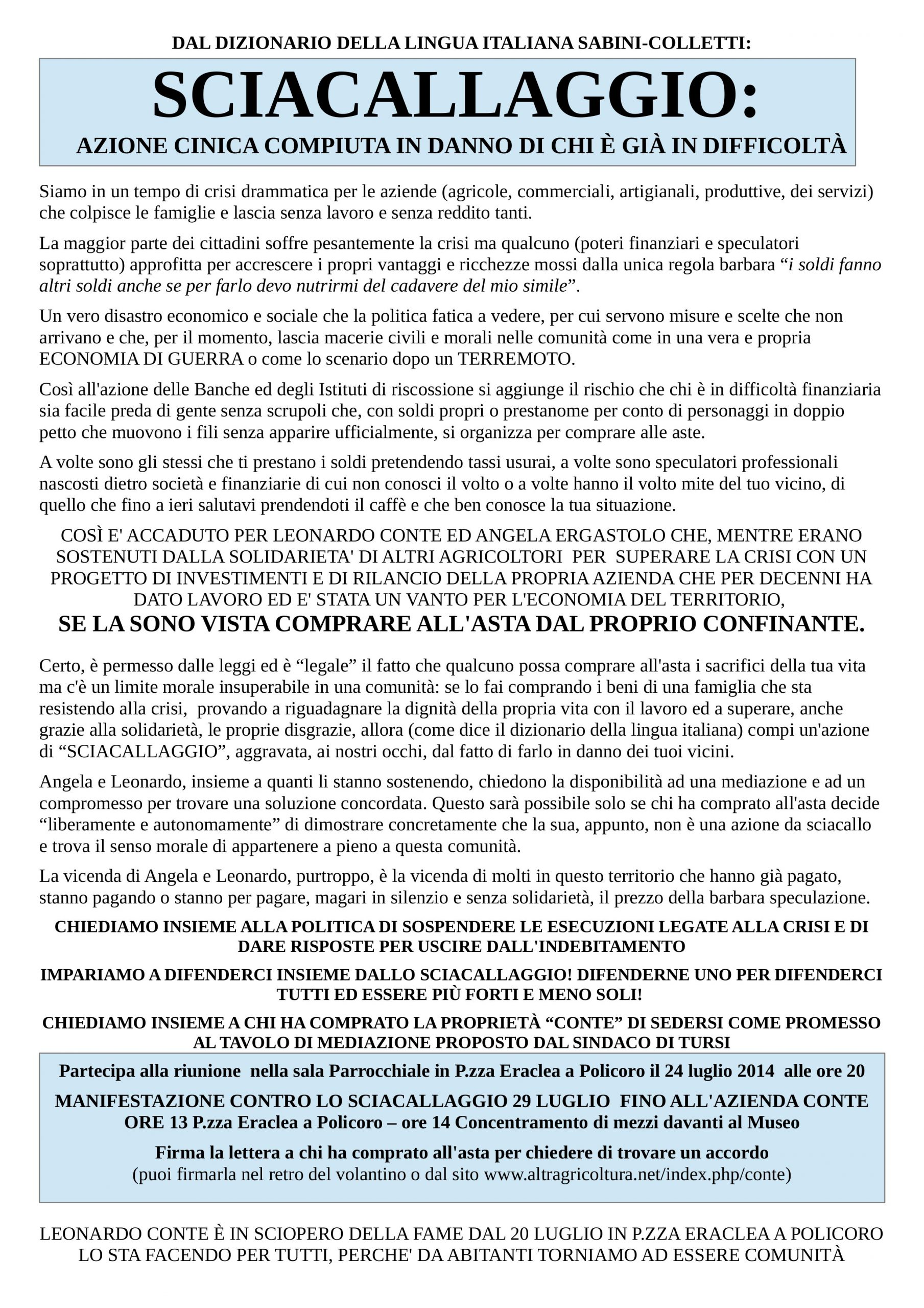 Volantino_sciacallaggio
